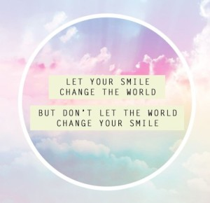 smile change world