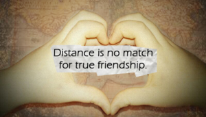 distance and friendship